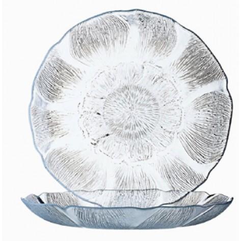Fleur Glass Plates - TD37