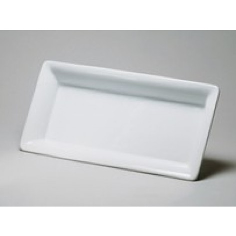 White Porcelain China Rectangular Platter