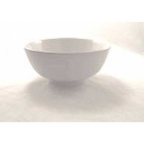 "White Porcelain China 12"" Diameter Bowl"