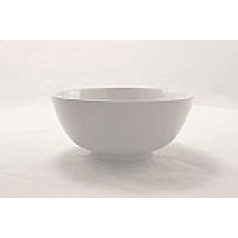 "White Porcelain China 16"" Diameter Bowl"