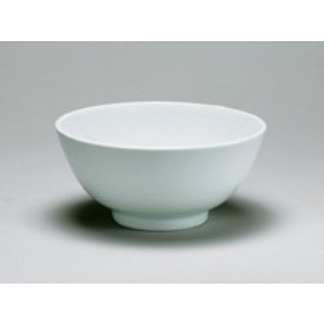 "White Porcelain China 9"" Diameter Bowl"