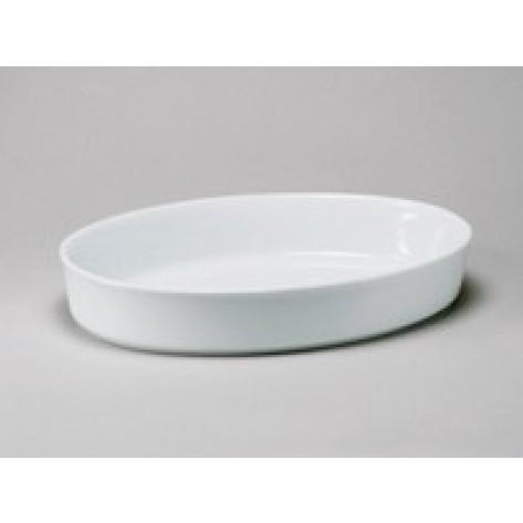 "White Porcelain China Deep Baker 13"" x 2"""