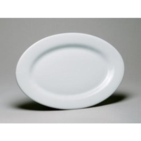 White Porcelain China Oval Platter
