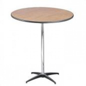 "30"" Round Standing Cocktail Table"