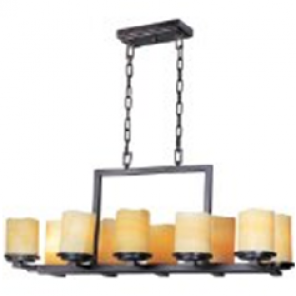 Wrought Iron Chandelier - LD22 (Qty: 4+)