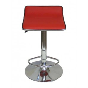Red Leather Contemporary Bar Stool - C17 (Qty: 28+)
