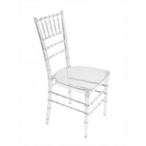 Clear Chiavari Chair - C24 (Qty: 145+)