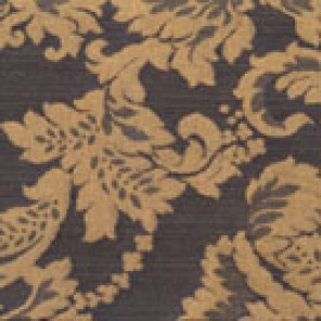 Coordinating Royal Black and Gold Damasks - LDM10
