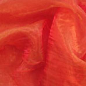 Crushed Mandarin Organzas - LOR05