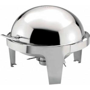 Full Size Round Chafer - 6Qt