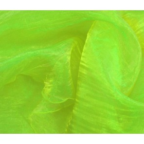 "Green Apple Organza Sash - 8""x 100"" - CTS20 (Qty: 500+)"