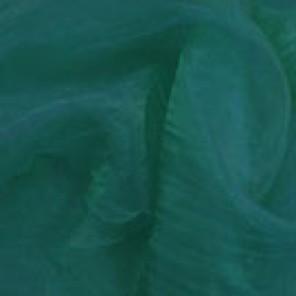 Hunter Green Organza - LOR15