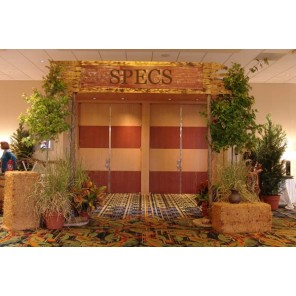 Corral Entryway with Assorted Southwestern Props - PR51