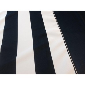 "Navy Blue and White 15"" x 90"" Runner - LPR109 (Qty: 18+)"