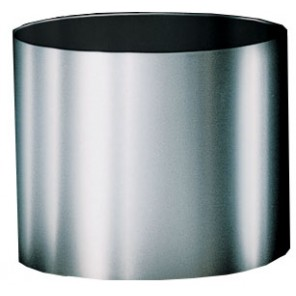 Brushed Silver Specialty Containers - PF13