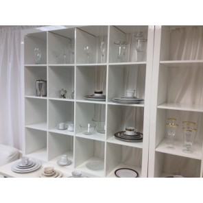 White Shelving Unit  - SF77 (Qty: 4+ )