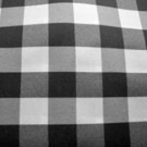 Picnic Check - Black and White - LPR50