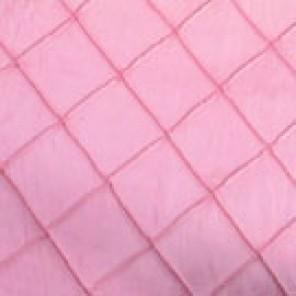 Pink Pintuck Taffetas - LTF17