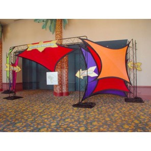 Colorful Spandex Sails - PR73