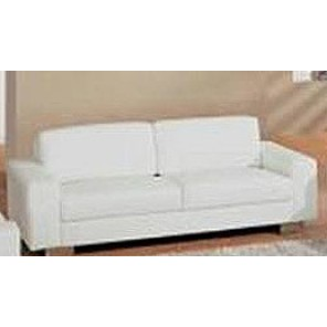 White Modern Leather Sofa - SF67 (Qty:4+)