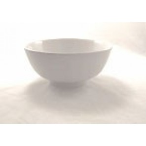 "White Porcelain China 12"" Diameter Bowl"