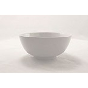 "White Porcelain China 16"" Diameter Bowl"