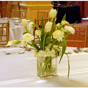 White Floral Centerpiece - PF94