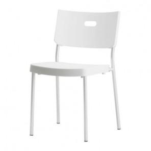 White Modern Chair - SF46 - (Qty: 34+)