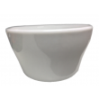 Bright White Porcelain Soup Cups